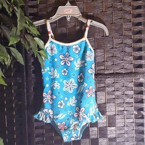 Bum equipment flower Bathing suit